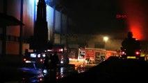 Giresun'da fındık fabrikası yangında hasar gördü