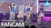 [예능연구소 직캠] OHMYGIRL - BUNGEE , 오마이걸 - BUNGEE (Fall in Love) @Show! Music Core 20190817