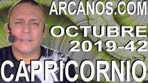 CAPRICORNIO OCTUBRE 2019 ARCANOS.COM - Horóscopo 13 al 19 de octubre de 2019 - Semana 42