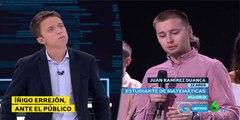 Las mentiras de Íñigo Errejón ante una pregunta incomoda en 'La Sexta'