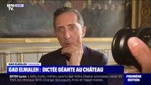 Gad Elmaleh star de la Dictée pour tous au château de Versailles