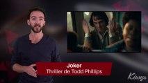 Maléfique, Joker ... voici une sélection des sorties ciné d'Octobre