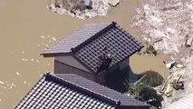 Découvrez les images impressionnantes des inondations au Japon après le passage du typhon Hagibis qui a tué au moins 35 personnes - VIDEO