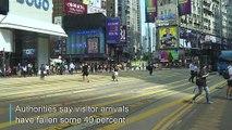 Tourists shun Hong Kong as protests roll on