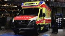 Mercedes-Benz Sprinter, chassis Sprinter ambulance vehicle by Fahrtec Systeme GmbH