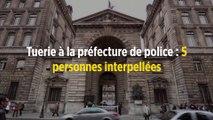 Tuerie à la préfecture de police : 5 personnes interpellées