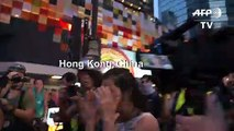 Multiple arrests in Hong Kong as 'flashmob' protests hit pro-Bejing targets