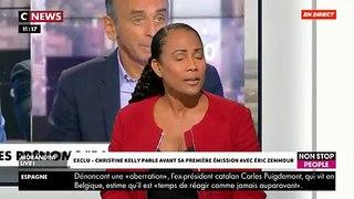 EXCLU - Christine Kelly avant son émission ce soir sur CNews: «Ni la justice, ni le CSA n'ont interdit à Zemmour de parler!» - VIDEO