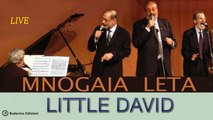 MNOGAJA LETA Quartet - LITTLE DAVID (PLAY ON YOUR HARP)