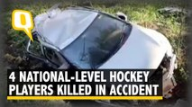 Four National-Level Hockey Players Killed in Car Accident
