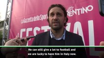 Serie A lucky to have Ribery - Toni
