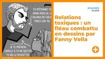 Relations toxiques - un fléau combattu en dessins par Fanny Vella