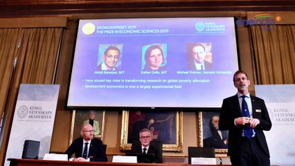 Abhijit Banerjee, Esther Duflo and Michael Kremer win 2019 Nobel Economics Prize