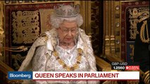 Queen Elizabeth II Sets Out U.K. Legislative Agenda