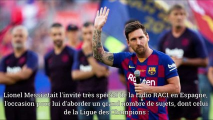Champs League Nouvelles | Messi entre le ballon d'or & la ligue des champions?