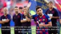 Champs League Nouvelles | Messi entre le ballon d'or & la ligue des champions?