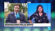 """Un Brexit le 31 octobre, la """"priorité"""" du gouvernement britannique"""