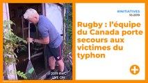 Rugby : l'équipe du Canada porte secours aux victimes du typhon