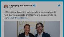 Ligue 1: Rudi Garcia nommé entraîneur de l'Olympique lyonnais