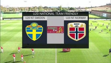 RE-LIVE Sweden U20 vs Norway U20 - International Marbella Cup 2019