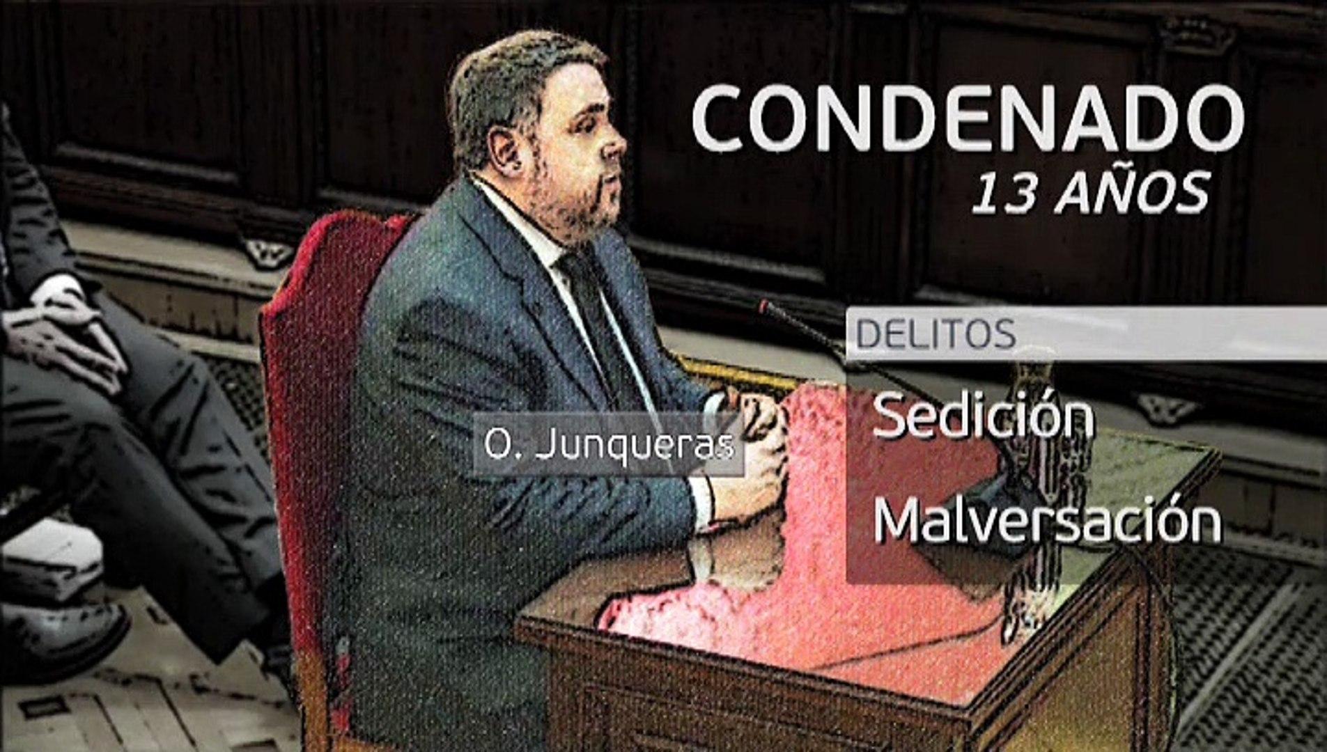 Las condenas a los líderes del