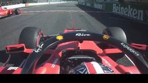 F1 - Charles Leclerc Onboard Suzuka 2019 Clash with Max Verstappen