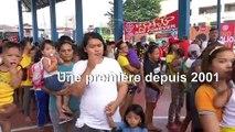 Les Philippines lancent une vaccination massive contre la polio