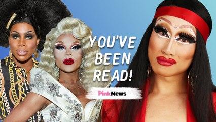 Yuhua Hamasaki reads RuPaul's Drag Race queens