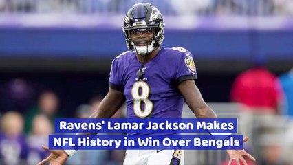 Lamar Jackson's Epic Win Over Cincinnati Bengals