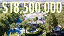 Inside an $18.5M Las Vegas Estate with a 21 Foot Waterfall