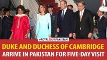 Duke and Duchess of Cambridge arrive in Pakistan for five-day visit