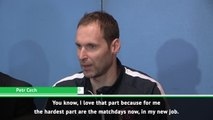 It was like playing a Premier League game - Cech on ice hockey debut