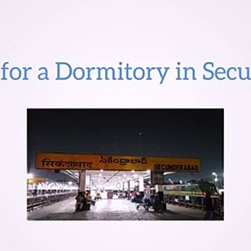 Dormitory Rooms in Secunderabad