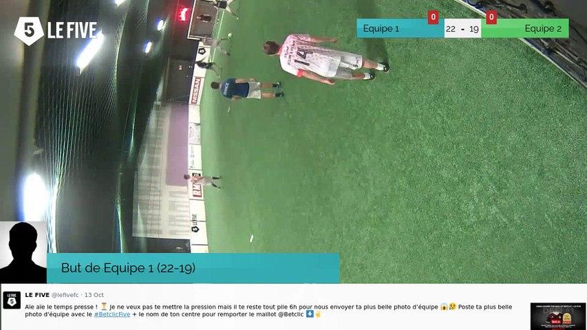 But de Equipe 1 (22-19)