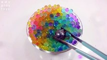 DIY Learn Colors Slime And Glitter Toys 1000 Degree Ball Toys For Kids