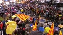 Concentración en Bilbao contra la sentencia del 'procés'