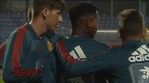 Ansu Fati ya entrena con la selección sub-21