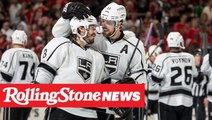 Los Angeles Kings Cover Taylor Swift's Staples Center Banner Due to 'Curse'   RS News 10/14/19