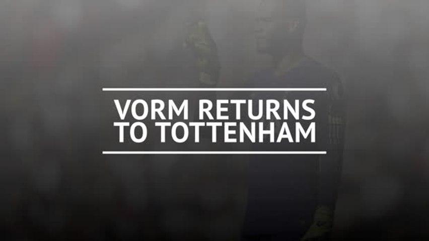 Vorm returns to Tottenham
