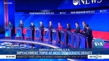 Impeachment Topic at Next Democratic Debate