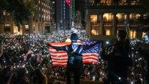 Hong Kong rally urges US Congress to pass Hong Kong Human Rights and Democracy Act