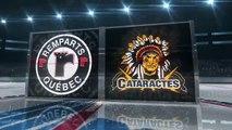 Quebec Remparts 6, Shawinigan Cataractes 3