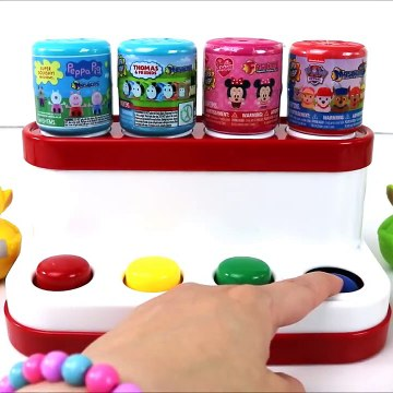 Pop up Learning Toys For Preschool Children With Mashems Toys For Kids