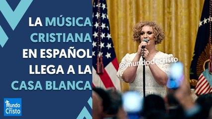 Christine D'Clario canta en la Casa Blanca