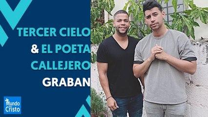 Tercer Cielo & El Poeta Callejero graban juntos   Le predican el Evangelio