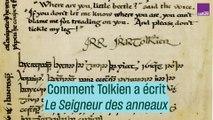 """Comment Tolkien à écrit """"Le Seigneur des anneaux"""""""