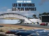 Supertest : les 10 voitures les plus rapides au Mans !