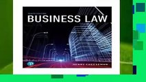 [NEW RELEASES]  Business Law (What s New in Business Law)