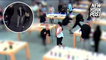 Idiotic thieves steal 29 Apple Watch store models