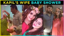 Kapil Sharma's Wife Ginni Baby Shower With Family   Bharti Singh